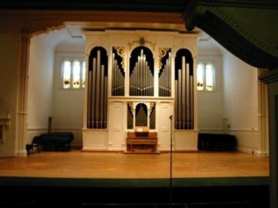 Stetson University: Beckerath Organ in Lee Chapel, Elizabeth Hall