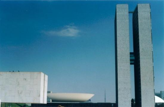 Congresso Nacional: Brasilia, maravillosa capital del Brasil, que envidia (sana) tener un lugar así para gobernar.