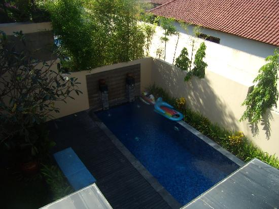 Alam Warna: View from upstairs balcony/terrace
