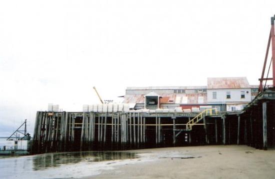 Icicle Seafood Pier, Egegik, AK.
