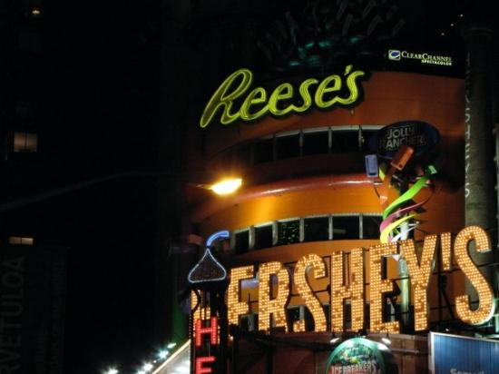 Hershey's Chocolate World Times Square: New York, État de New York, États-Unis