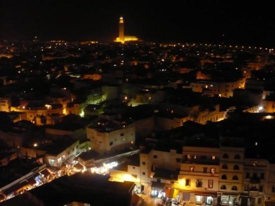 Ancienne Medina : Casablanca at night
