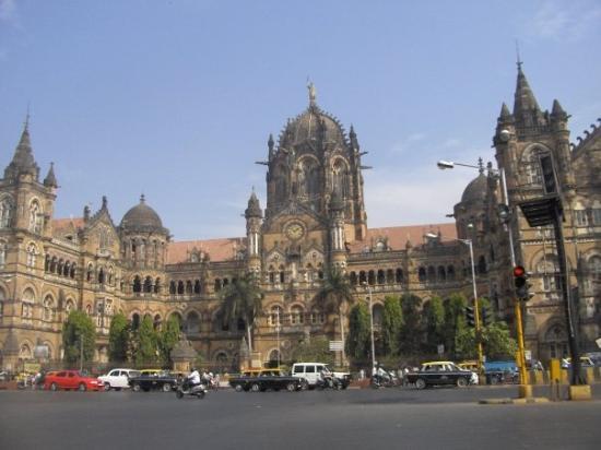 Chhatrapati Shivaji Terminus: Chhatrapati Shivaji (aka Victoria) Terminus 22 Dec 2008