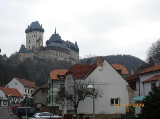 Karlstejn Castle outside Prague