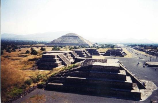 Ciudad de México, México: Temple del Sol, Plaza del Luna: Teotihuacan