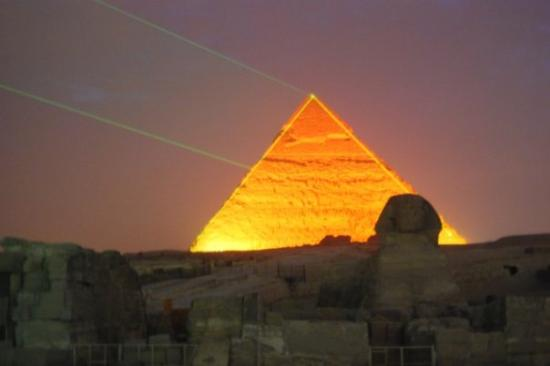 Pyramids show: oh yes, we are definately sending out some signals....can you hear me???