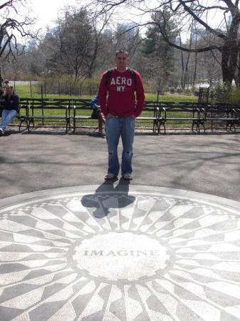 Strawberry Fields, John Lennon Memorial: Strawberry fields