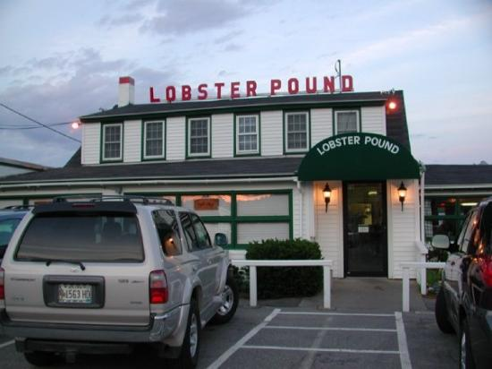 Lobster Pound at Lincolnville, Maine.