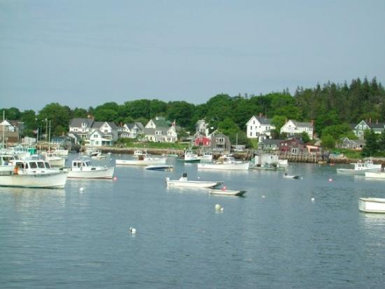 Carver's Harbor at Vinalhaven, Maine.