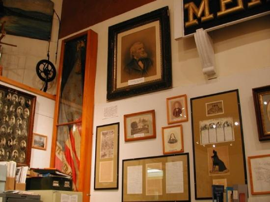 Carver's Corner in the Vinalhaven historical society.