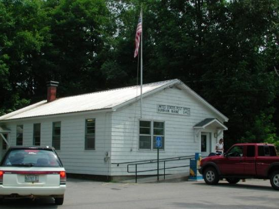 U.S. Post Office in Burnham, Maine.