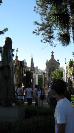 สุสานเรโคเลตา: Cementerio Recoletta