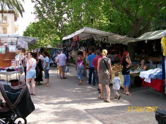 Der Markt Picture Of Hotel Js Sol De Alcudia Port D