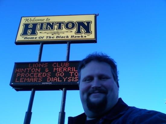 Hinton, IA: You can't make this stuff up!...