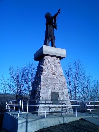 Chief War Eagle Monument : Chief War Eagle, Friend of White Man Memorial...