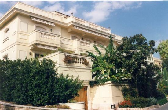 Monaco-Ville, Monaco: Clos Saint Martin. Palacete de S.A.R. La Princesa Caroline von Hannover. Mónaco.