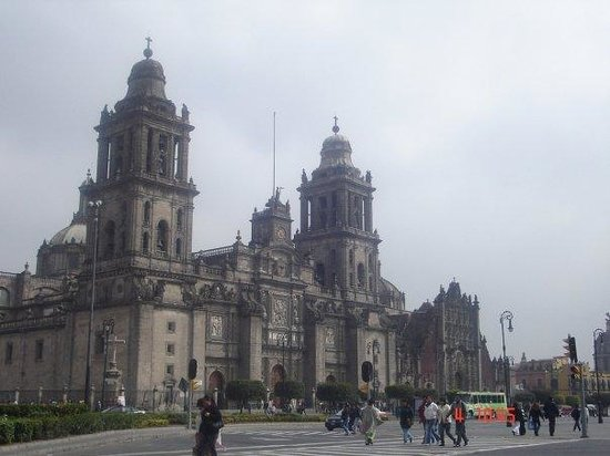 Metropolitan Cathedral (Catedral Metropolitana): the cathedral