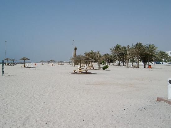 Dubai, Vereinigte Arabische Emirate: Strand in Richtung Sharjah