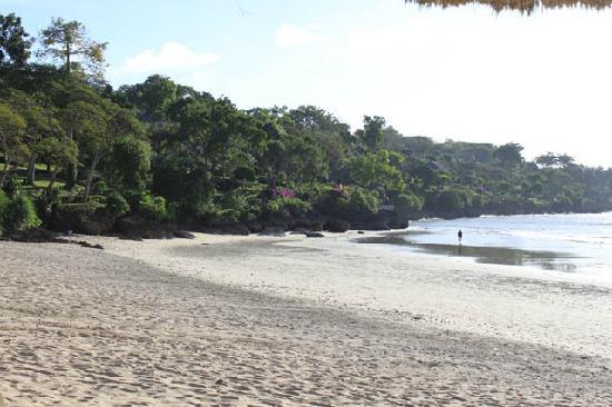 Four Seasons Resort Bali at Jimbaran Bay: Beach in front of FS domain
