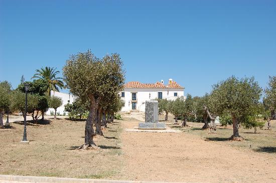 Alcantarilha, Portekiz: Front of Hotel Capela Das Artes