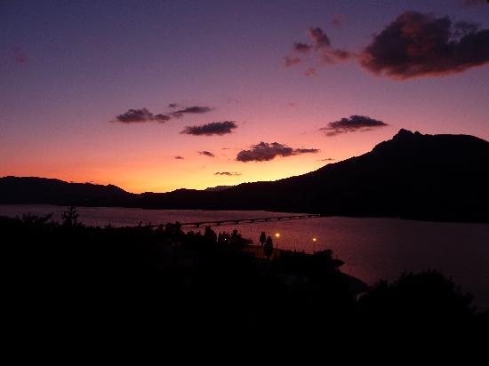 Savines-le-Lac, Frankreich: vue de l'hotel Eden lac