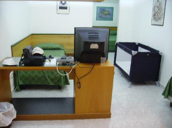 Hotel la Corte : Le dernier lit (inocupé)