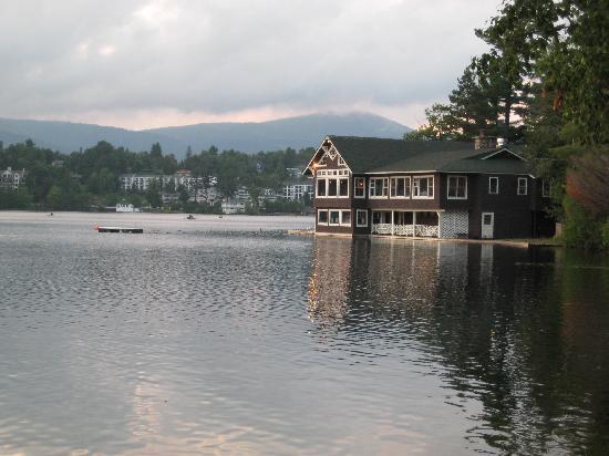 Lake Placid Club Boat House : The Boathouse restaurant