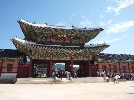 โซล, เกาหลีใต้: ここが入口です。
