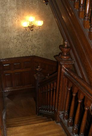 Mahanoy City, PA: great staircase!