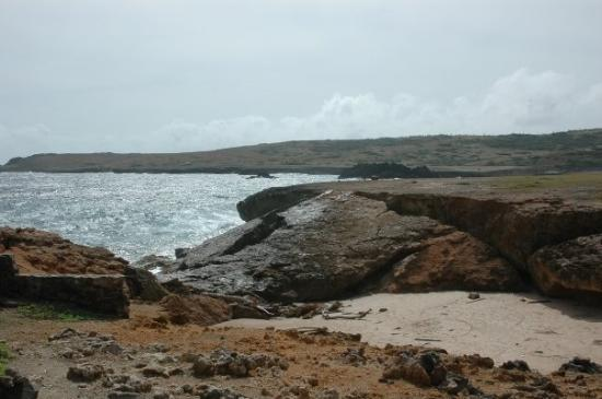 Oranjestad, Aruba: The collapsed Natural Bridge