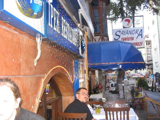 The front of Ipek Restaurant