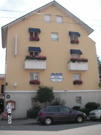 Hotel Les Terrasses : vue exterieure