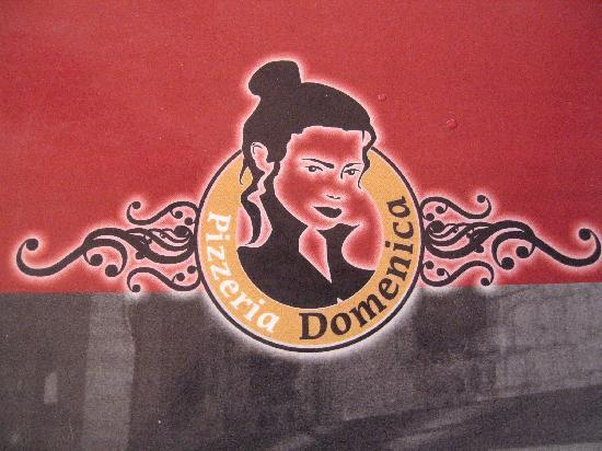 Lovely logo of Pizzeria Domenica