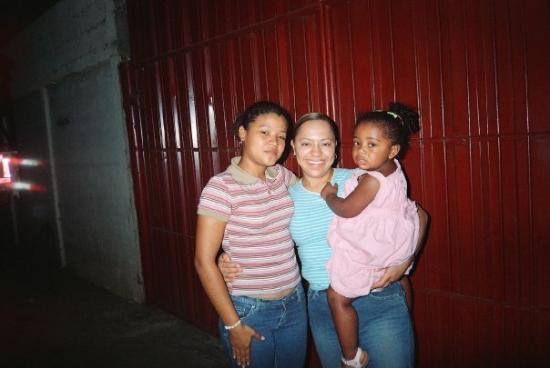 มานากัว, นิการากัว: Mi madre fátima, Michell y Yo en Nicaragua