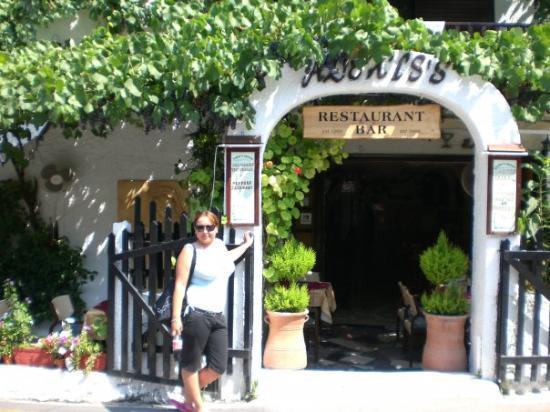 Agios Georgios, Grèce : Alexis's restaurant
