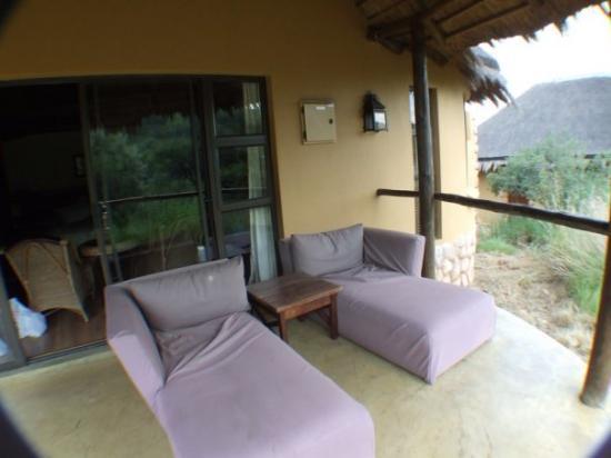 Pilanesberg National Park, แอฟริกาใต้: with balcony
