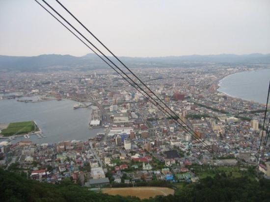 ฮะโกะดะเตะ, ญี่ปุ่น: 鸟瞰函館山