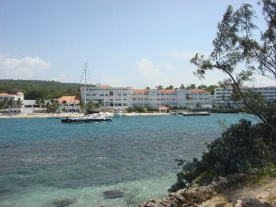 Couples Tower Isle: View of the resort from the island
