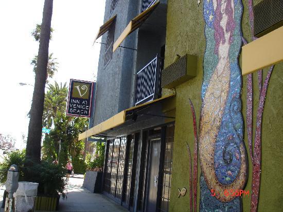 Inn At Venice Beach Hotel Sign