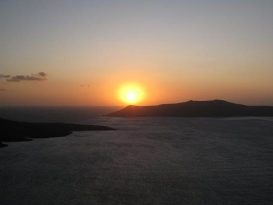 Santorini Volcano ภาพถ่าย