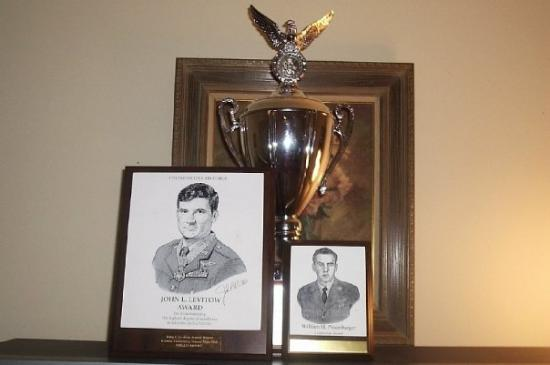 Newport News, VA: Son Phillip's Airforce Awards and Plaques.
