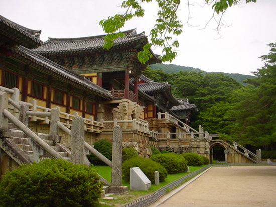 Gyeongju, South Korea: Bulguksa