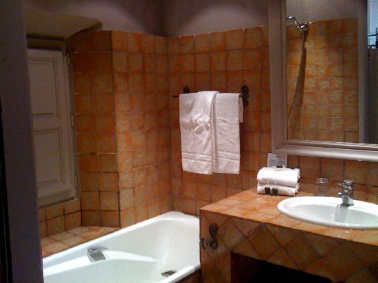 Jardin d'Emile: la salle de bain