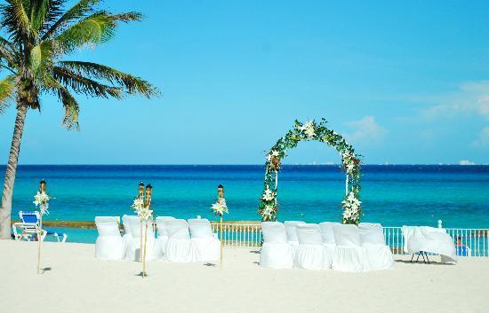 Hotel Riu Palace Riviera Maya Our Wedding Set Up Beautiful