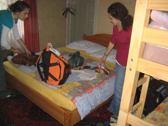 Heidi's Hostel: the room