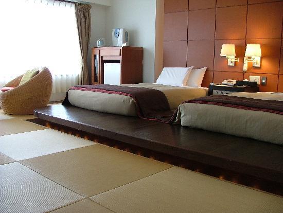 Gora Tensui : room 402 - semi western beds