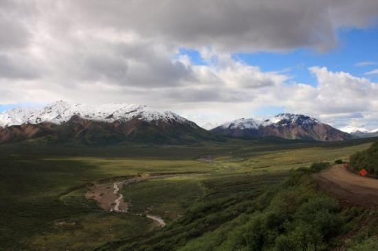 Alaska Waterfall Picture Of Denali National Park And