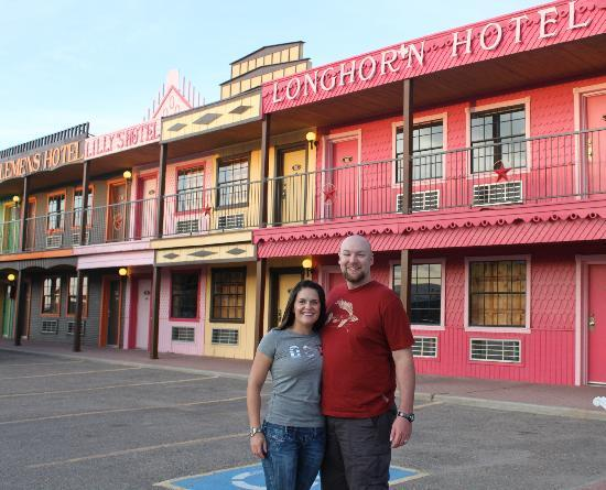 Big Texan Motel: Just like the old west