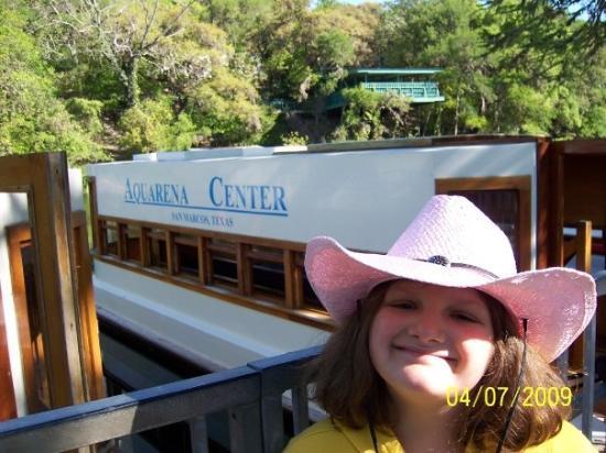 Rachel at Aquarena Springs in San Marcos, TX.