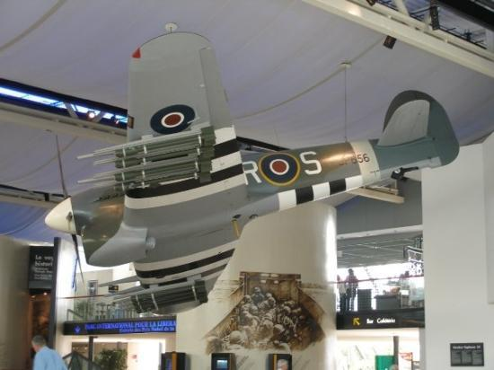 ก็อง, ฝรั่งเศส: Inside the WWII Museum in Caen, France